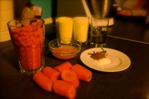 Ciasto marchewkowe składniki
