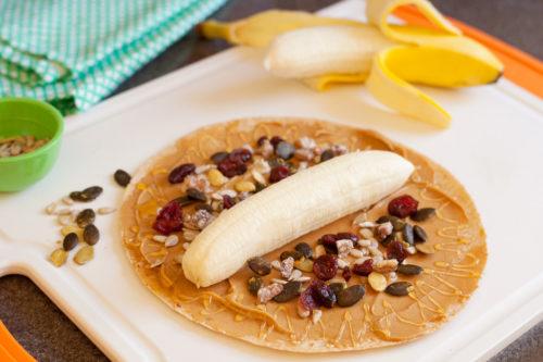 tortilla z bananem
